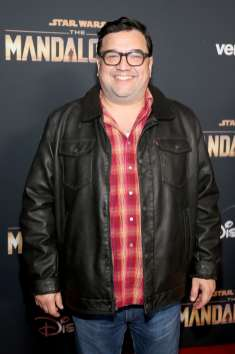 "HOLLYWOOD, CALIFORNIA - NOVEMBER 13: Horatio Sanz arrives at the premiere of Lucasfilm's first-ever, live-action series, ""The Mandalorian,"" at the El Capitan Theatre in Hollywood, Calif. on November 13, 2019. ""The Mandalorian"" streams exclusively on Disney+. (Photo by Jesse Grant/Getty Images for Disney)"