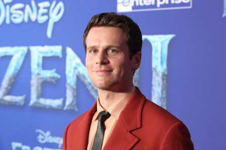 "HOLLYWOOD, CALIFORNIA - NOVEMBER 07: Actor Jonathan Groff attends the world premiere of Disney's ""Frozen 2"" at Hollywood's Dolby Theatre on Thursday, November 7, 2019 in Hollywood, California. (Photo by Jesse Grant/Getty Images for Disney)"
