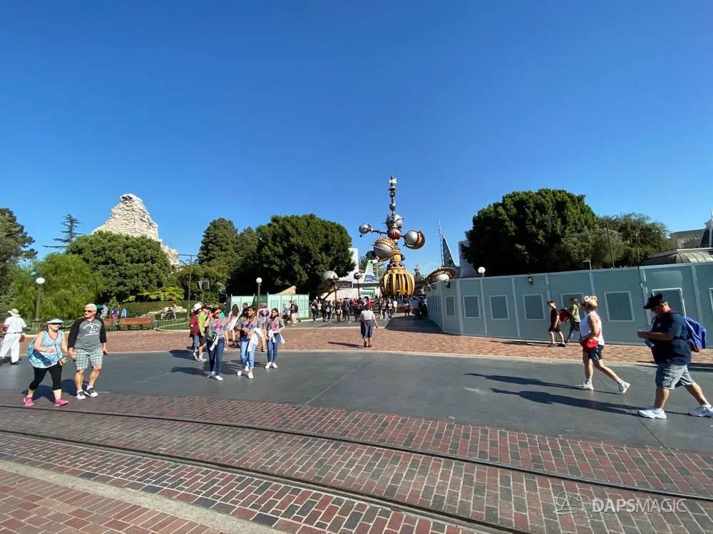 New Tomorrowland Entrance at Disneyland-1