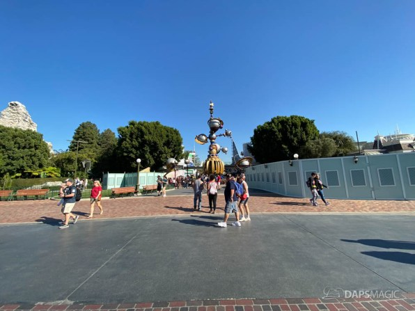 New Tomorrowland Entrance at Disneyland-2