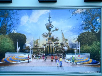 Tomorrowland Entrance Concept Art Unveiled at Disneyland-2