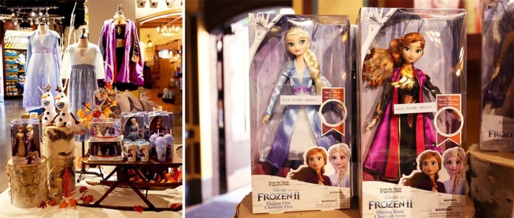 Frozen themed merchandise