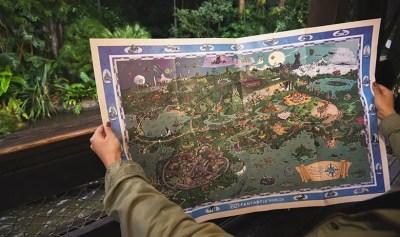 D23 Fantastic Worlds Map