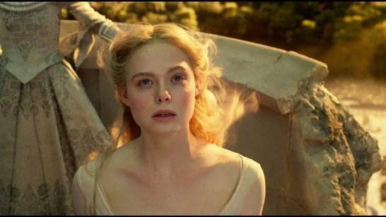 Elle Fanning is Aurora in Disney's MALEFICENT: MISTRESS OF EVIL.