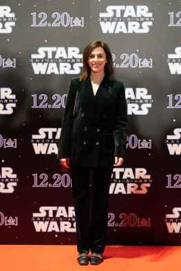TOKYO, JAPAN - DECEMBER 11: Producer Michelle Rejwan attends the special fan event for 'Star Wars: The Rise of Skywalker' at Roppongi Hills on December 11, 2019 in Tokyo, Japan. (Photo by Christopher Jue/Getty Images for Disney)