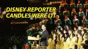 Candles Were Lit - DISNEY Reporter