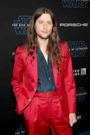 "HOLLYWOOD, CALIFORNIA - DECEMBER 16: Ludwig Göransson arrives for the World Premiere of ""Star Wars: The Rise of Skywalker"", the highly anticipated conclusion of the Skywalker saga on December 16, 2019 in Hollywood, California. (Photo by Jesse Grant/Getty Images for Disney)"