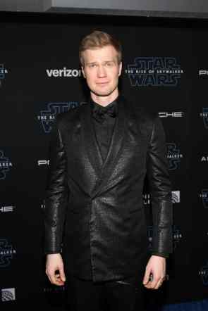 "HOLLYWOOD, CALIFORNIA - DECEMBER 16: Joonas Suotamo arrives for the World Premiere of ""Star Wars: The Rise of Skywalker"", the highly anticipated conclusion of the Skywalker saga on December 16, 2019 in Hollywood, California. (Photo by Jesse Grant/Getty Images for Disney)"