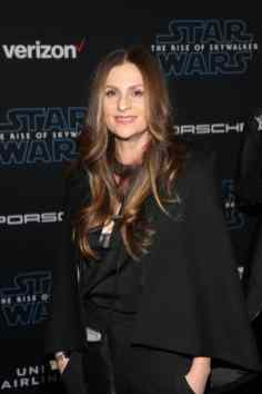 "HOLLYWOOD, CALIFORNIA - DECEMBER 16: Niki Caro arrives for the World Premiere of ""Star Wars: The Rise of Skywalker"", the highly anticipated conclusion of the Skywalker saga on December 16, 2019 in Hollywood, California. (Photo by Jesse Grant/Getty Images for Disney)"