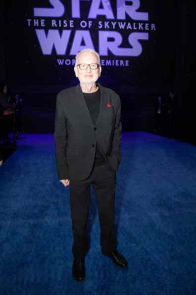 Ian McDiarmid arrives for the World Premiere of Star Wars: The Rise of Skywalker, the highly anticipated conclusion of the Skywalker saga, in Hollywood, CA, on December 16, 2019..(photo: Alex J. Berliner/ABImages)
