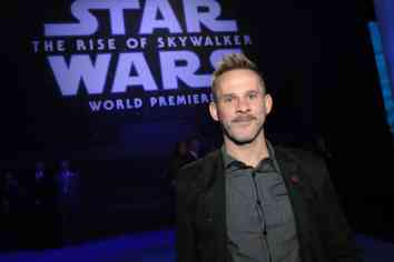 Dominic Monaghan arrives for the World Premiere of Star Wars: The Rise of Skywalker, the highly anticipated conclusion of the Skywalker saga, in Hollywood, CA, on December 16, 2019. (photo: Alex J. Berliner/ABImages)