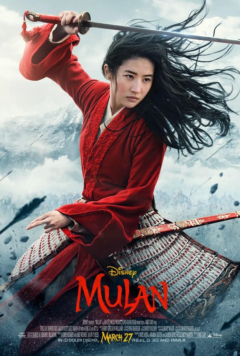 Disney's Mulan Poster