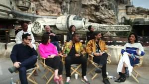 """The Rise of Skywalker"" cast"