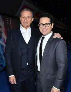 "HOLLYWOOD, CALIFORNIA - DECEMBER 16: (L-R) Disney CEO Robert Iger and Director, Writer and Producer J.J. Abrams arrive for the World Premiere of ""Star Wars: The Rise of Skywalker"", the highly anticipated conclusion of the Skywalker saga on December 16, 2019 in Hollywood, California. (Photo by Amy Sussman/Getty Images for Disney)"