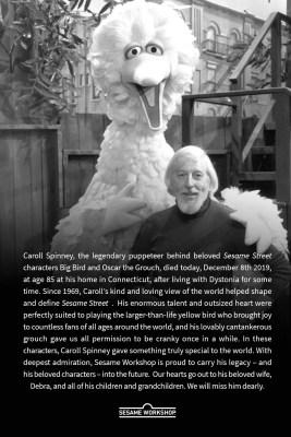 Caroll Spinney