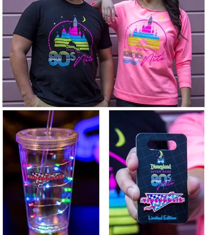Disneyland After Dark: 80s Nite - Merchandise