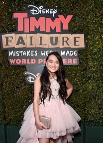 """HOLLYWOOD, CALIFORNIA - JANUARY 30: Ai-Chan Carrier attends the premiere of Disney's """"Timmy Failure: Mistakes Were Made"""" at Hollywood's El Capitan Theater on January 30, 2020. """"Timmy Failure: Mistakes Were Made"""" premieres on February 7, 2020, streaming only on Disney+. (Photo by Alberto E. Rodriguez/Getty Images for Disney)"""
