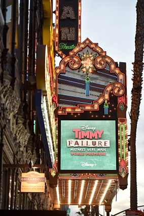 """HOLLYWOOD, CALIFORNIA - JANUARY 30: A view of the atmosphere at the premiere of Disney's """"Timmy Failure: Mistakes Were Made"""" at Hollywood's El Capitan Theater on January 30, 2020. """"Timmy Failure: Mistakes Were Made"""" premieres on February 7, 2020, streaming only on Disney+. (Photo by Alberto E. Rodriguez/Getty Images for Disney)"""
