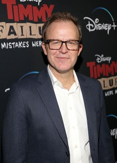 """HOLLYWOOD, CALIFORNIA - JANUARY 30: Director Tom McCarthy attends the premiere of Disney's """"Timmy Failure: Mistakes Were Made"""" at Hollywood's El Capitan Theater on January 30, 2020. """"Timmy Failure: Mistakes Were Made"""" premieres on February 7, 2020, streaming only on Disney+. (Photo by Jesse Grant/Getty Images for Disney)"""