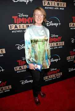 """HOLLYWOOD, CALIFORNIA - JANUARY 30: Costume designer Kari Perkins attends the premiere of Disney's """"Timmy Failure: Mistakes Were Made"""" at Hollywood's El Capitan Theater on January 30, 2020. """"Timmy Failure: Mistakes Were Made"""" premieres on February 7, 2020, streaming only on Disney+. (Photo by Jesse Grant/Getty Images for Disney)"""