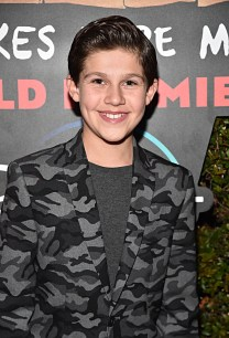 """HOLLYWOOD, CALIFORNIA - JANUARY 30: Jackson Dollinger attends the premiere of Disney's """"Timmy Failure: Mistakes Were Made"""" at Hollywood's El Capitan Theater on January 30, 2020. """"Timmy Failure: Mistakes Were Made"""" premieres on February 7, 2020, streaming only on Disney+. (Photo by Alberto E. Rodriguez/Getty Images for Disney)"""