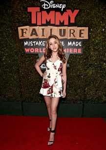 """HOLLYWOOD, CALIFORNIA - JANUARY 30: Ava Kolker attends the premiere of Disney's """"Timmy Failure: Mistakes Were Made"""" at Hollywood's El Capitan Theater on January 30, 2020. """"Timmy Failure: Mistakes Were Made"""" premieres on February 7, 2020, streaming only on Disney+. (Photo by Alberto E. Rodriguez/Getty Images for Disney)"""