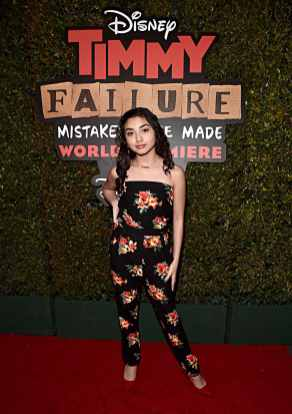 """HOLLYWOOD, CALIFORNIA - JANUARY 30: Julia Garcia attends the premiere of Disney's """"Timmy Failure: Mistakes Were Made"""" at Hollywood's El Capitan Theater on January 30, 2020. """"Timmy Failure: Mistakes Were Made"""" premieres on February 7, 2020, streaming only on Disney+. (Photo by Alberto E. Rodriguez/Getty Images for Disney)"""