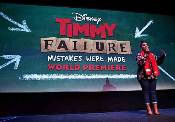 """HOLLYWOOD, CALIFORNIA - JANUARY 30: Yvette Nicole Brown attends the premiere of Disney's """"Timmy Failure: Mistakes Were Made"""" at Hollywood's El Capitan Theater on January 30, 2020. """"Timmy Failure: Mistakes Were Made"""" premieres on February 7, 2020, streaming only on Disney+. (Photo by Alberto E. Rodriguez/Getty Images for Disney)"""