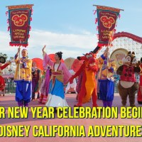 Lunar New Year Celebration Begins at Disney California Adventure!