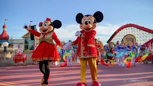 Mulan's Lunar New Year Processional 2020