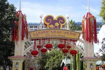 """Disneyland Resort in California welcomes a year of good fortune with Lunar New Year celebrations at Disney California Adventure from Jan. 17 – Feb. 9, 2020. Celebrating the Year of the Mouse, the limited-time festival features Mulan's Lunar New Year Procession, plus """"Hurry Home – Lunar New Year Celebration"""" prior to """"World of Color,"""" a Lucky Wishing Wall, delectable foods and more. (Richard Harbaugh/Disneyland Resort)"""
