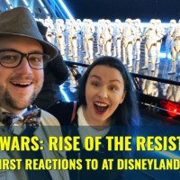 Our First Reactions to Star Wars: Rise of the Resistance at Disneyland Park