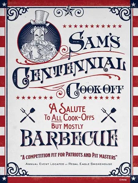 Sam's Centennial Cook-Off