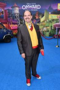 HOLLYWOOD, CALIFORNIA - FEBRUARY 18: Mel Rodriguez attends the world premiere of Disney and Pixar's ONWARD at the El Capitan Theatre on February 18, 2020 in Hollywood, California. (Photo by Alberto E. Rodriguez/Getty Images for Disney)