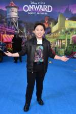 HOLLYWOOD, CALIFORNIA - FEBRUARY 18: Albert Tsai attends the world premiere of Disney and Pixar's ONWARD at the El Capitan Theatre on February 18, 2020 in Hollywood, California. (Photo by Alberto E. Rodriguez/Getty Images for Disney)