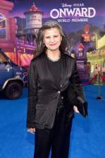 HOLLYWOOD, CALIFORNIA - FEBRUARY 18: Tracey Ullman attends the world premiere of Disney and Pixar's ONWARD at the El Capitan Theatre on February 18, 2020 in Hollywood, California. (Photo by Alberto E. Rodriguez/Getty Images for Disney)