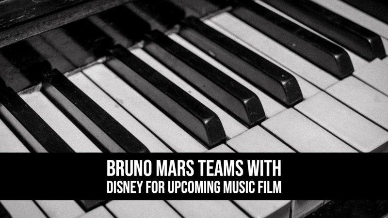 Bruno Mars Teams with Disney for Upcoming Music Film