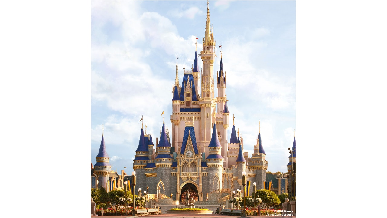 Magic Kingdom's Cinderella Castle to Get New Look Ahead of 50th Anniversary of Walt Disney World Resort