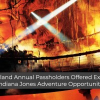 Disneyland Annual Passholders Offered Exclusive Indiana Jones Adventure Opportunity
