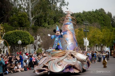 First Magic Happens Parade at Disneyland