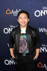 HOLLYWOOD, CALIFORNIA - FEBRUARY 18: Albert Tsai attends the world premiere of Disney and Pixar's ONWARD at the El Capitan Theatre on February 18, 2020 in Hollywood, California. (Photo by Jesse Grant/Getty Images for Disney)
