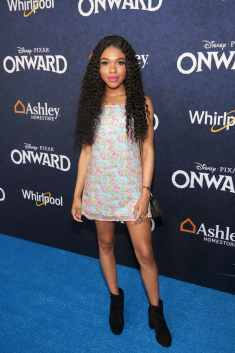 HOLLYWOOD, CALIFORNIA - FEBRUARY 18: Teala Dunn attends the world premiere of Disney and Pixar's ONWARD at the El Capitan Theatre on February 18, 2020 in Hollywood, California. (Photo by Jesse Grant/Getty Images for Disney)