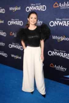 HOLLYWOOD, CALIFORNIA - FEBRUARY 18: Olivia Sanabia attends the world premiere of Disney and Pixar's ONWARD at the El Capitan Theatre on February 18, 2020 in Hollywood, California. (Photo by Jesse Grant/Getty Images for Disney)