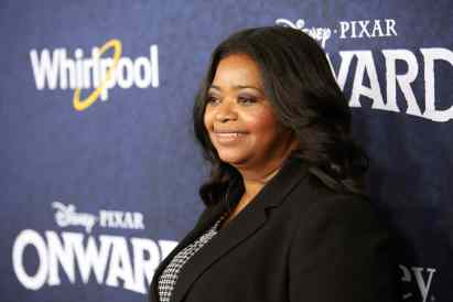 HOLLYWOOD, CALIFORNIA - FEBRUARY 18: Octavia Spencer attends the world premiere of Disney and Pixar's ONWARD at the El Capitan Theatre on February 18, 2020 in Hollywood, California. (Photo by Jesse Grant/Getty Images for Disney)