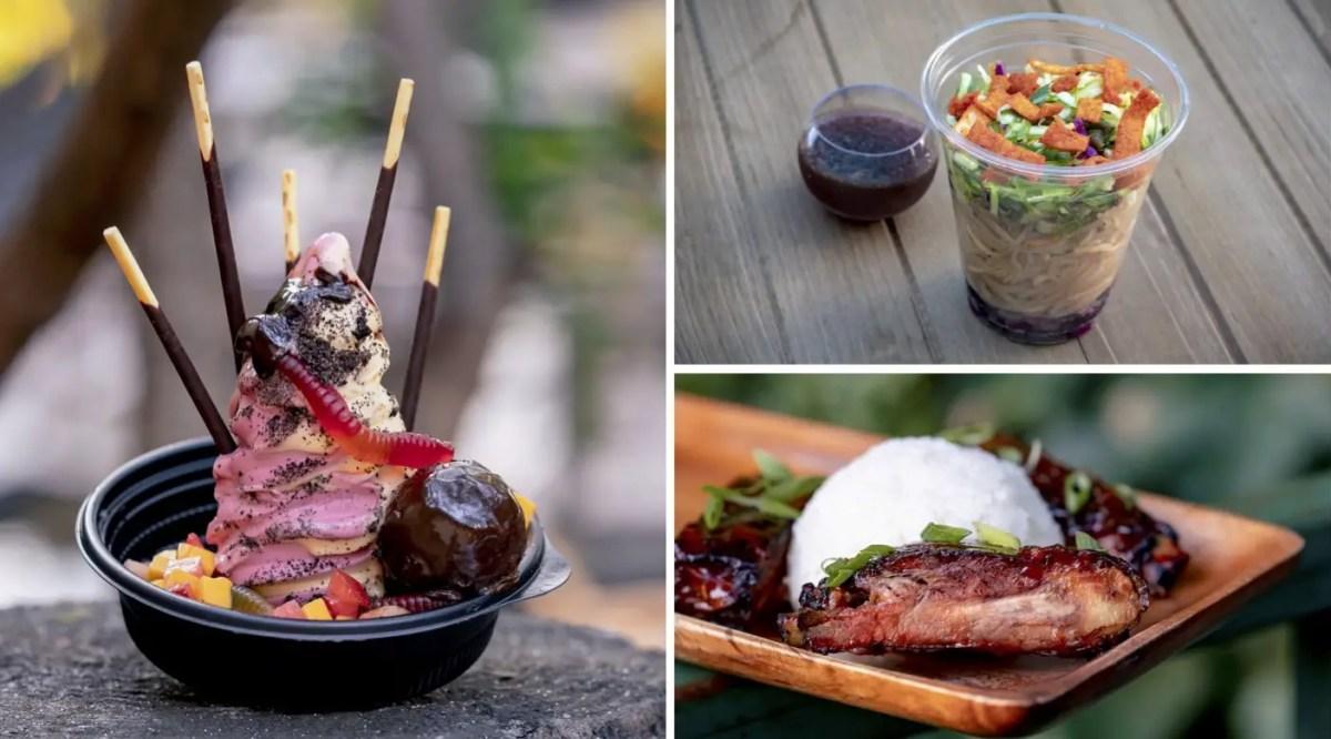 Indiana Jones Adveenture Foods at Tropical Hideaway
