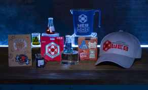 In Avengers Campus at Disney California Adventure Park in Anaheim, California, guests can commemorate their successful recruitment with a variety of household and novelty items including beaker-inspired mugs, toothpick holders, notepads, trading pins and patches. Avengers Campus opens July 18, 2020. (David Roark/Disneyland Resort)