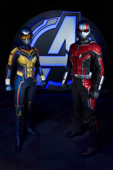 Avengers Campus, opening July 18, 2020, at Disney California Adventure Park in Anaheim, California, brings together Earth's Mightiest Heroes for the common good, and they're calling all recruits to join the action: Team up with the Avengers and their allies. Ant-Man (right) and The Wasp will appear at Disneyland Resort for the first time when Avengers Campus opens this summer. (Joshua Sudock/Disneyland Resort)