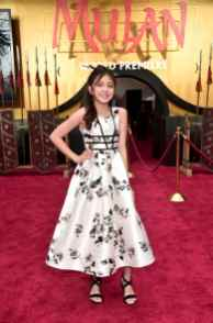 HOLLYWOOD, CALIFORNIA - MARCH 09: Elle Paris Legaspi attends the World Premiere of Disney's 'MULAN' at the Dolby Theatre on March 09, 2020 in Hollywood, California. (Photo by Alberto E. Rodriguez/Getty Images for Disney)