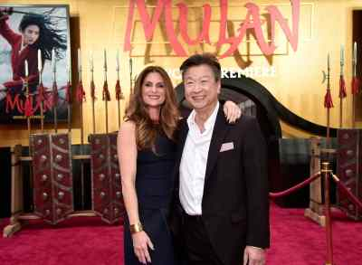 HOLLYWOOD, CALIFORNIA - MARCH 09: (L-R) Director Niki Caro and Tzi Ma attend the World Premiere of Disney's 'MULAN' at the Dolby Theatre on March 09, 2020 in Hollywood, California. (Photo by Alberto E. Rodriguez/Getty Images for Disney)