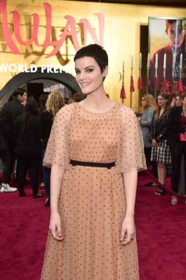 HOLLYWOOD, CALIFORNIA - MARCH 09: Jaimie Alexander attends the World Premiere of Disney's 'MULAN' at the Dolby Theatre on March 09, 2020 in Hollywood, California. (Photo by Alberto E. Rodriguez/Getty Images for Disney)
